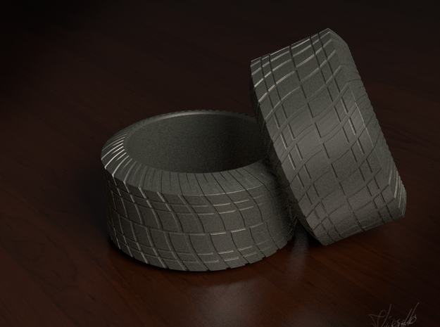 Tire Ring 3d printed Render