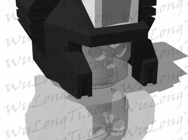 Kreon Combiner - Construction Helmet 3d printed skull head not included