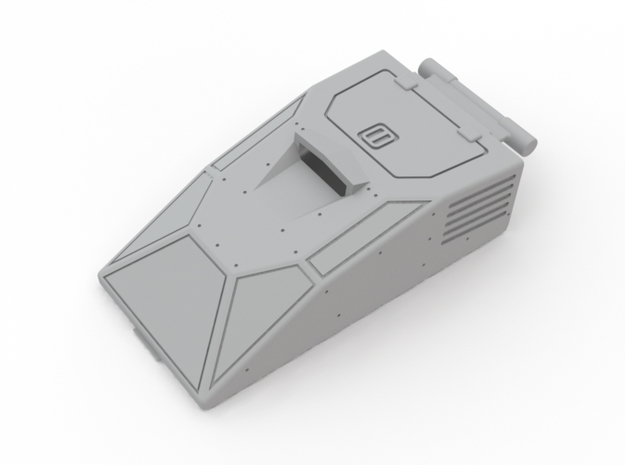 Hiss Canopy Armored for 25th Anniversary Version 3d printed
