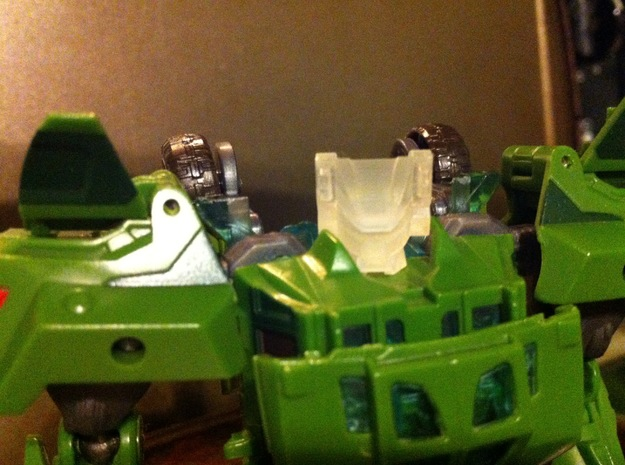 Cyberverse Roadbuster head 3d printed tested in FUD
