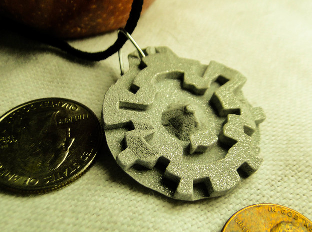 Topalo Pendant Necklace 3d printed