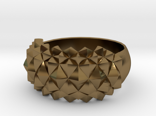 Studs Ring Sleek 3d printed