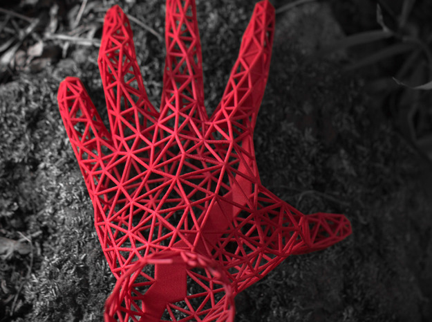 "Crawling Wire Hand - ""The Thing"" 3d printed Photograph"