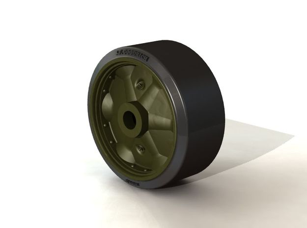 B168525 STAMPED WHEEL 3d printed