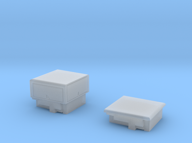 HO/1:87 Pickup cap + cover set for VW Amarok 3d printed