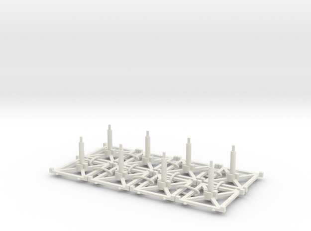 Stand x8 3.0 3d printed