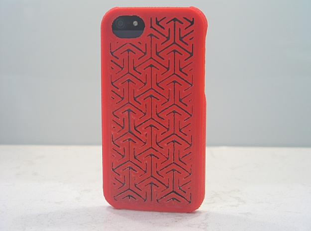 Islamic Case for Iphone 5 3d printed in red