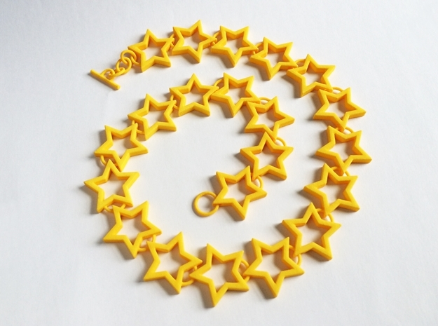 Star Necklace 3d printed Fun summer jewelry!