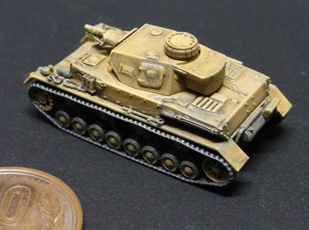 1/144 PzKpfw IV ausf.E Tropical type 3d printed