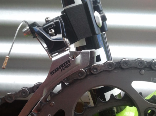 Cannondale Hooligan FD Spacer. 3d printed Mounted 53t - 39t chainring combo