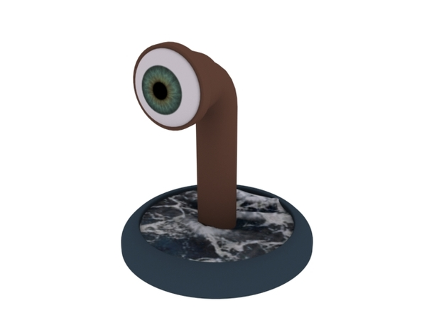 Periscope. A different board game counter. 3d printed