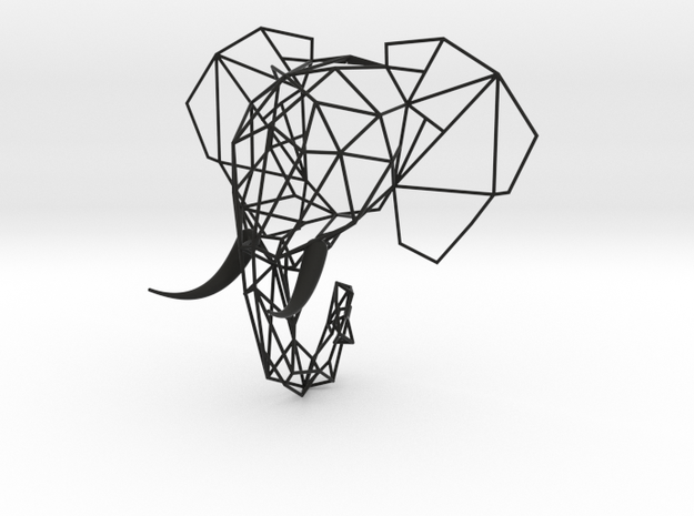 Wired Life Elephant Medium 3d printed