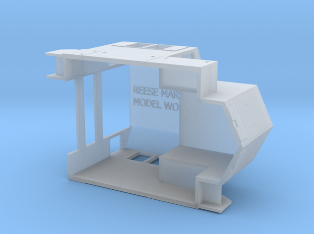 Norfolk Southern Admiral Cab N Scale 3d printed