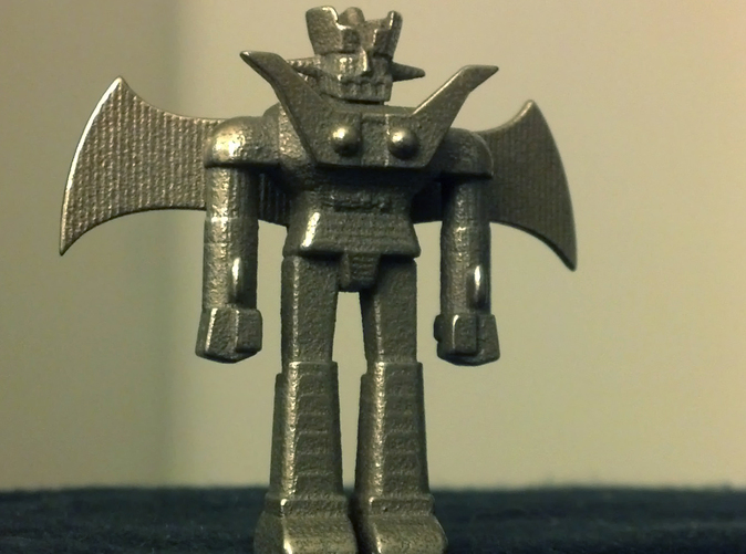 Mazinger in stainless steel!