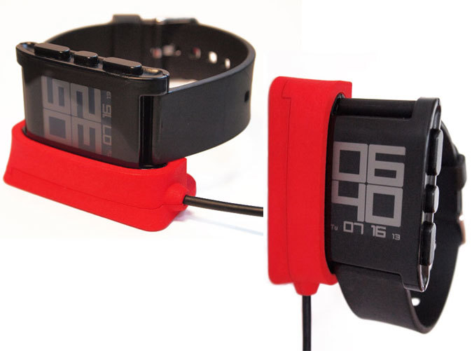 Pebble Watch Dock - horizontal & vertical options