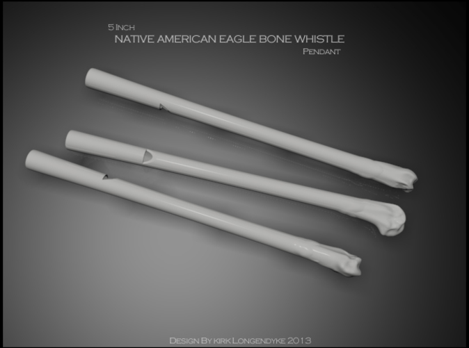 Eagle Bone Whistles