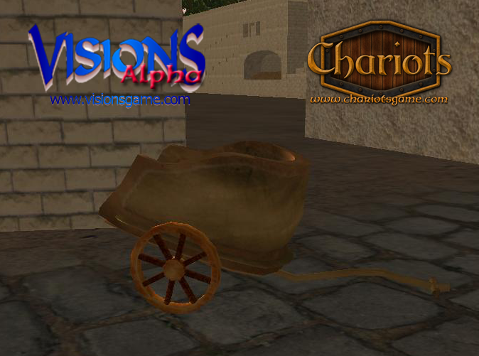 Bronze Chariot - screenshot from Visions alpha