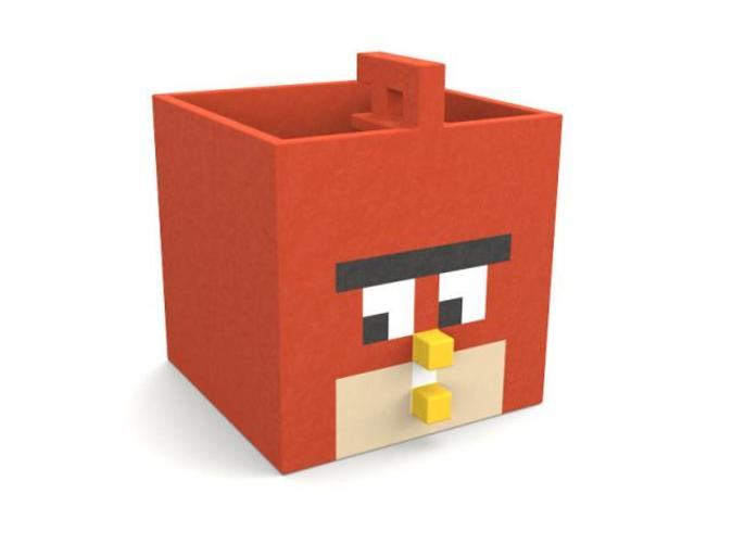 Angry box front