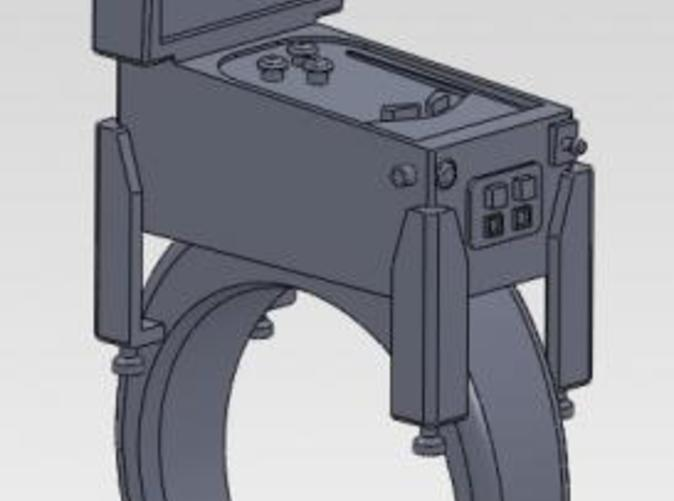 as shown in solidworks, detail may vary
