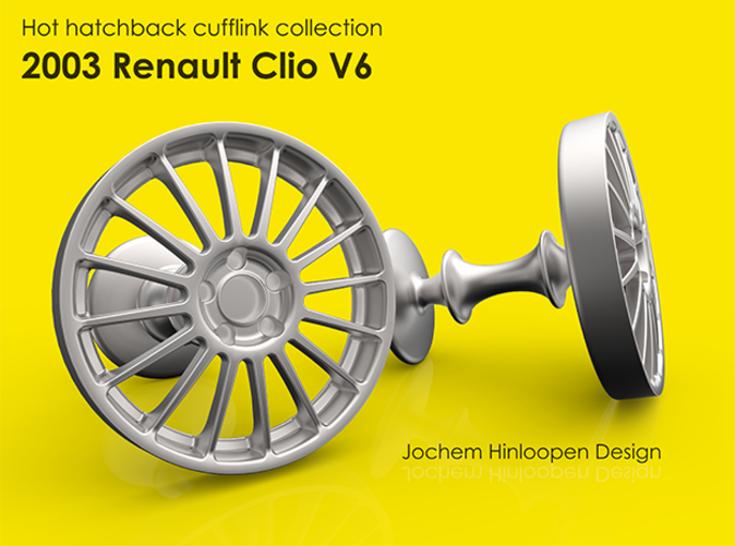 2003 renault clio v6 cufflinks g9a8rqdhs by hinloopen. Black Bedroom Furniture Sets. Home Design Ideas