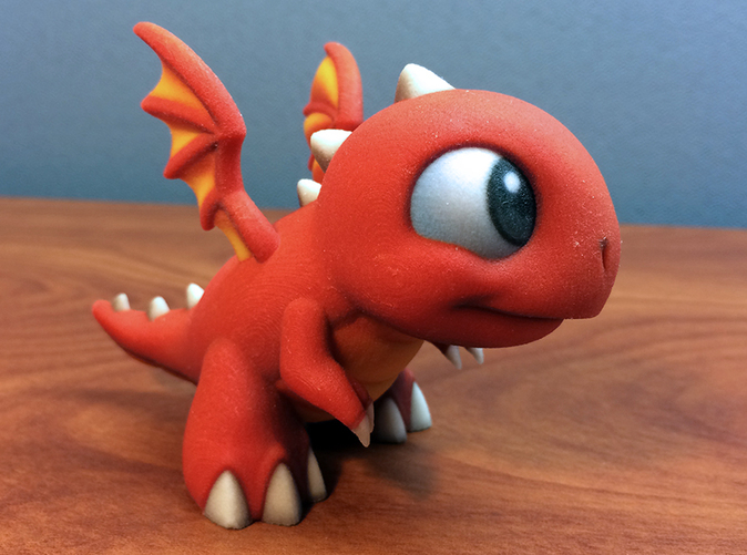 Dragonvale Baby Fire Dragon on fire size up form