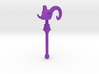 Skeletor's Havoc Staff scaled for Lego 3d printed