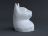 Cat Gasp (5 cm/2 inch) 3d printed Side