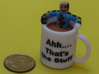 Crash Test Dummy Coffee Cup Mashup 3d printed