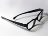 Classic Spectacle Frame 3d printed Test material Black Nylon