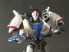 TFP upgrade set for Smokescreen 3d printed Significant weapons