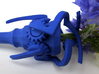 Mechanical Hairpin 3d printed In Royal Blue Strong & Flexible
