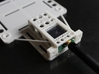 DJI Phantom Custom FPV Undertray -Fatshark (d3wey) 3d printed TX slides in