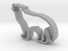 Wolf shaped cookie cutter 3d printed