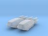 1/1000 Scale Colonial Shuttle Mk-3 3d printed