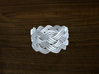 Turk's Head Knot Ring 5 Part X 10 Bight - Size 10 3d printed