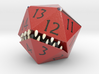 D20 Red Monster Figurine 3d printed