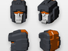 Deluxe Trailcutter 'Forcefield Face' 3d printed