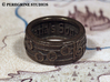 Ring - Saria's Song (Size 13) 3d printed Antique Bronze Glossy