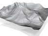 8'' Mt. Wilbur Terrain Model, Montana, USA 3d printed