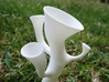 Alien Vase 3d printed Alien Vase in White Strong and Flexible #5 (Close up)