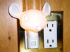 Mouse Night Light 3d printed mouse head night light