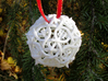 Thorn Die20 Ornament 3d printed In White Strong & Flexible