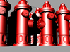 Hydrant type : A H0 (1:87) 16 Pcs 3d printed