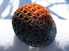 Pod (Colloidal Vessel 101010) 3d printed This is White Strong & Flexible dyed with RIT dye