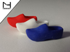 Wooden Shoe / Klomp 3d printed WS&F in Holland Colors