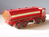 1:43 AEC Mammoth Major Mk1 Cab & 8Whl Chassis 3d printed Elliptical fuel tank body fitted