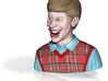 Bad Luck Brian 3d printed