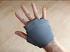 Iron Man Right Palm (Medium/Large) 3d printed Actual 3D Print using Strong & Flexible Plastic. Sanded and primed.