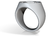 Stonecutter Ring (Size 13.5) 3d printed