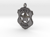 Police Badge Pet Tag / Pendant / Key Fob 3d printed